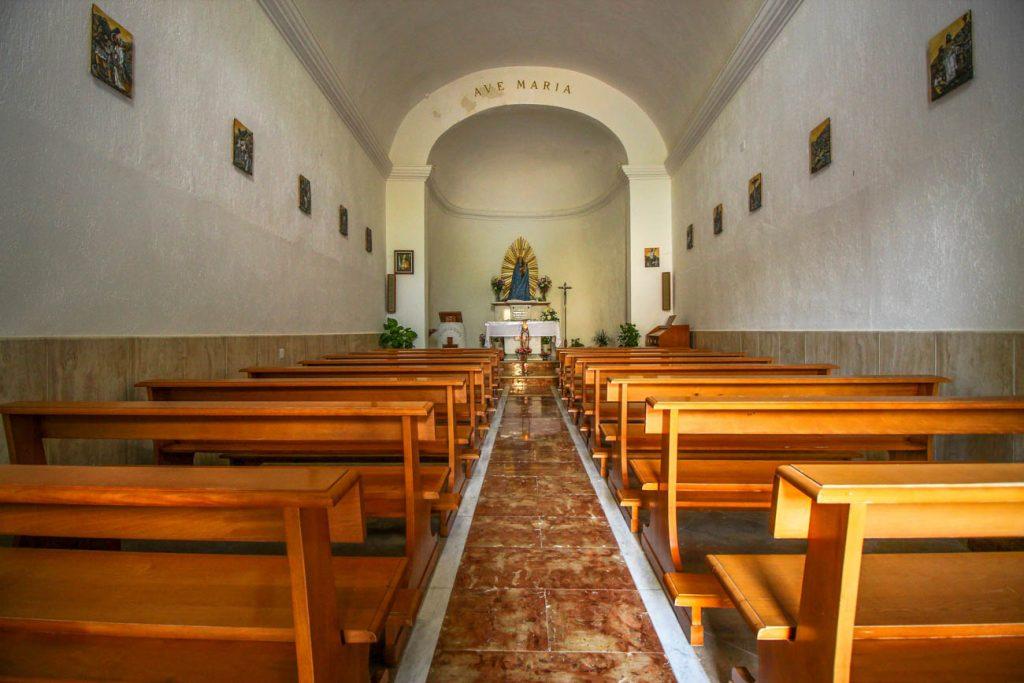 Santuario di Cala Madonna a Lampedusa