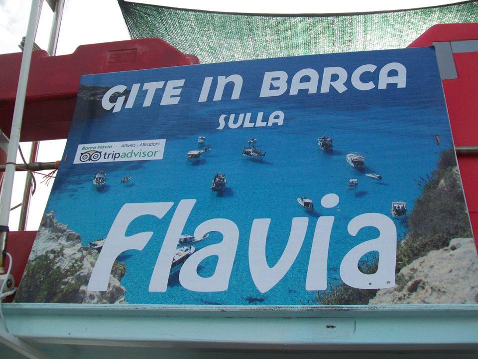 Barca Flavia a Lampedusa