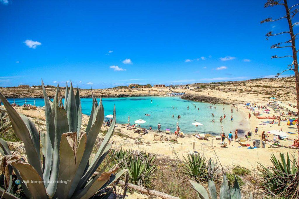 Spiaggia di Cala Croce, Lampedusa