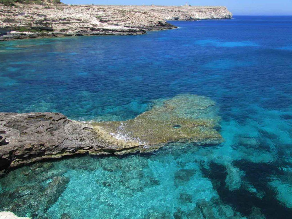 Cala Creta a Lampedusa