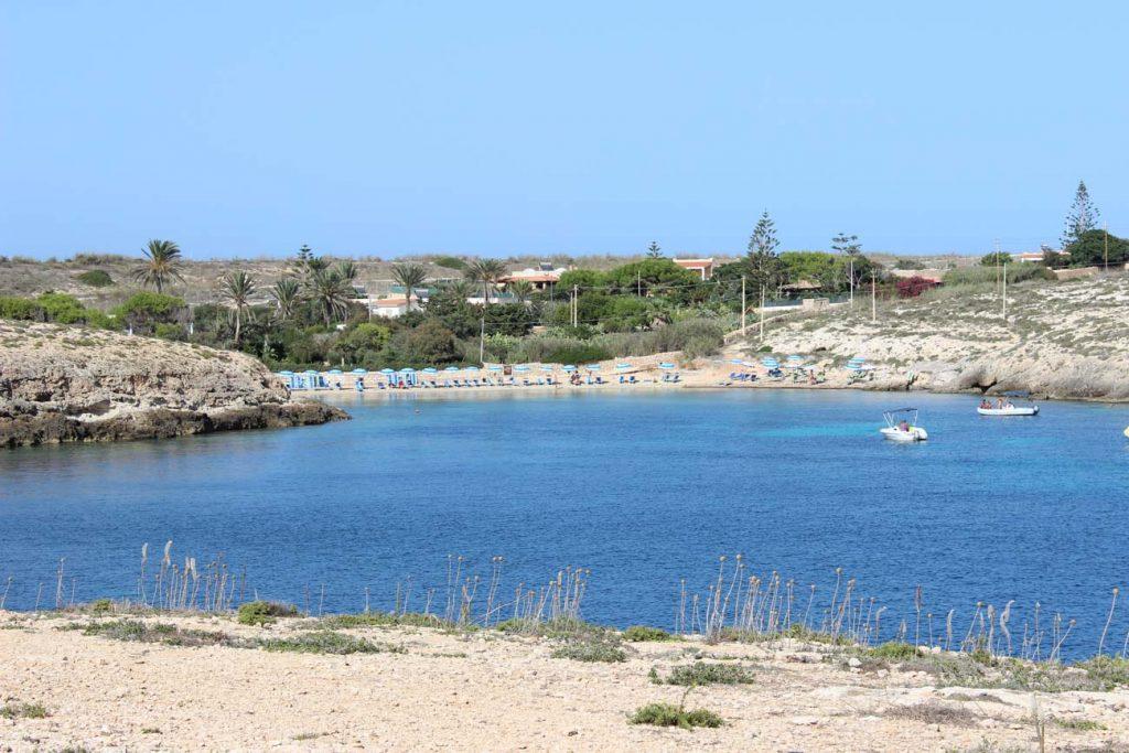 Cala Francese a Lampedusa