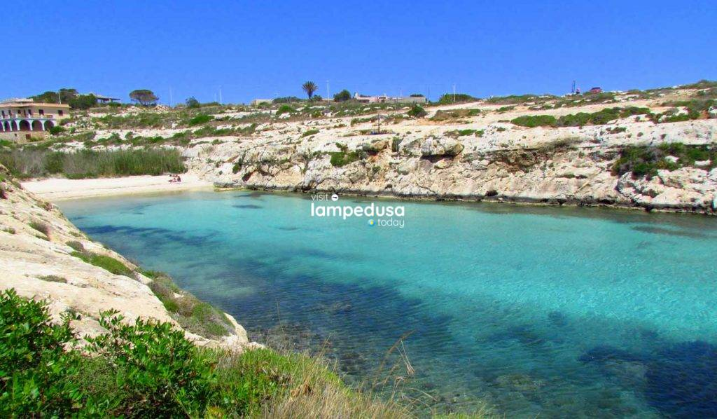 Cala Madonna a Lampedusa