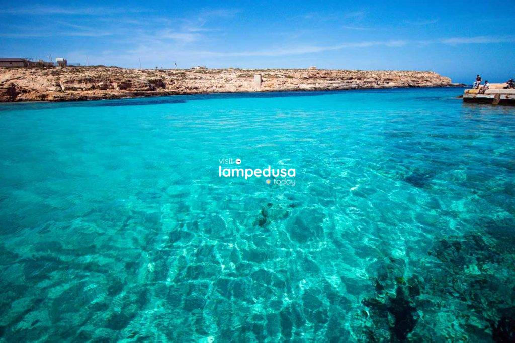 Cala Pisana a Lampedusa