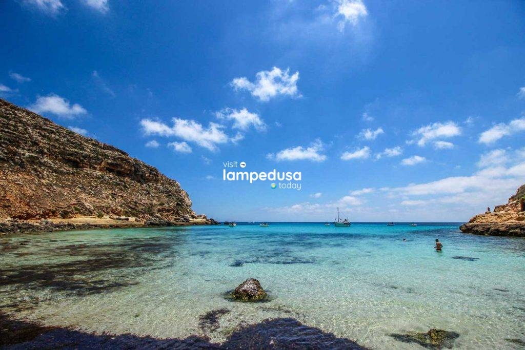 Cala Pulcino a Lampedusa