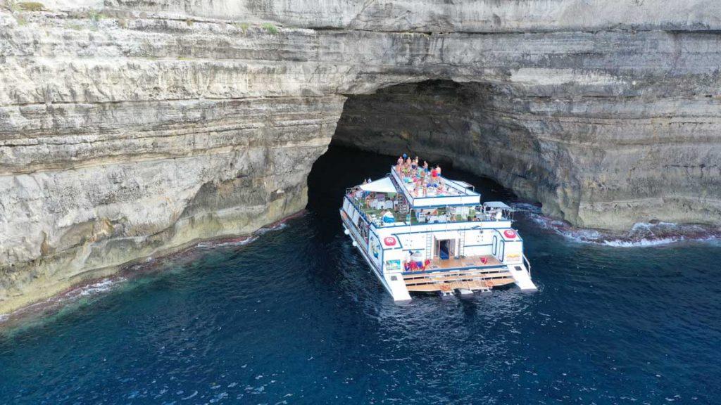 La Quarta Isola a Lampedusa
