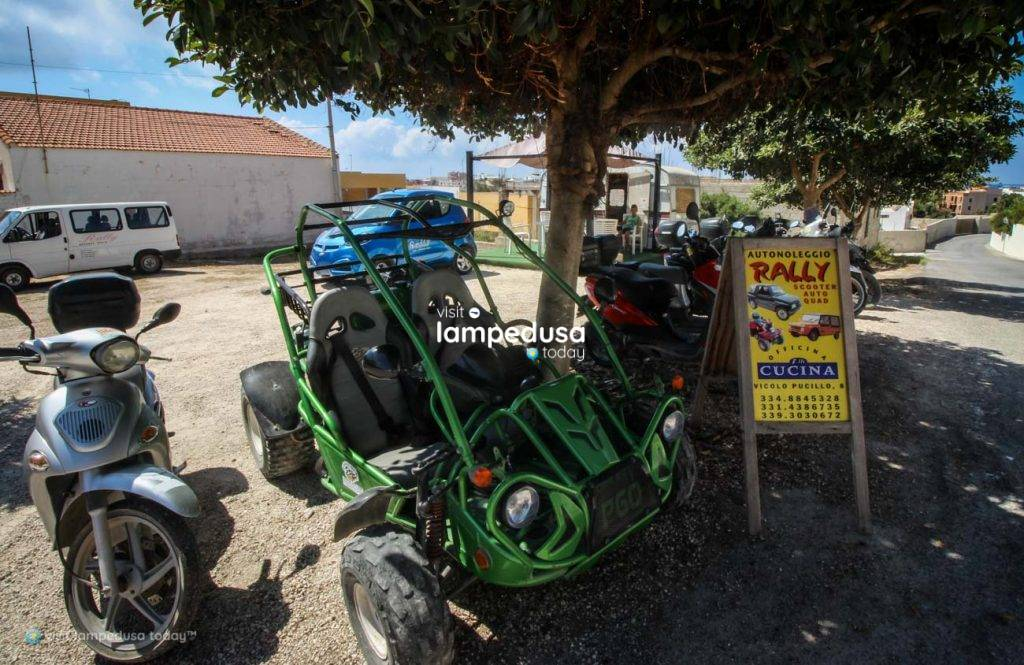 Noleggio Rally a Lampedusa