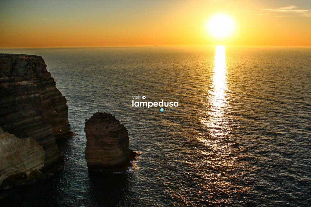 Scoglio Sacramento a Lampedusa