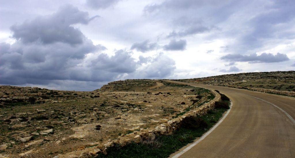Strada Panoramica a Lampedusa