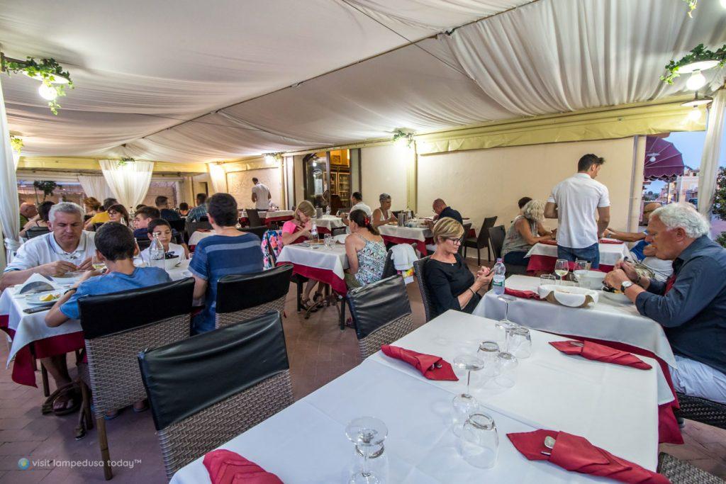 Trattoria La Risacca a Lampedusa