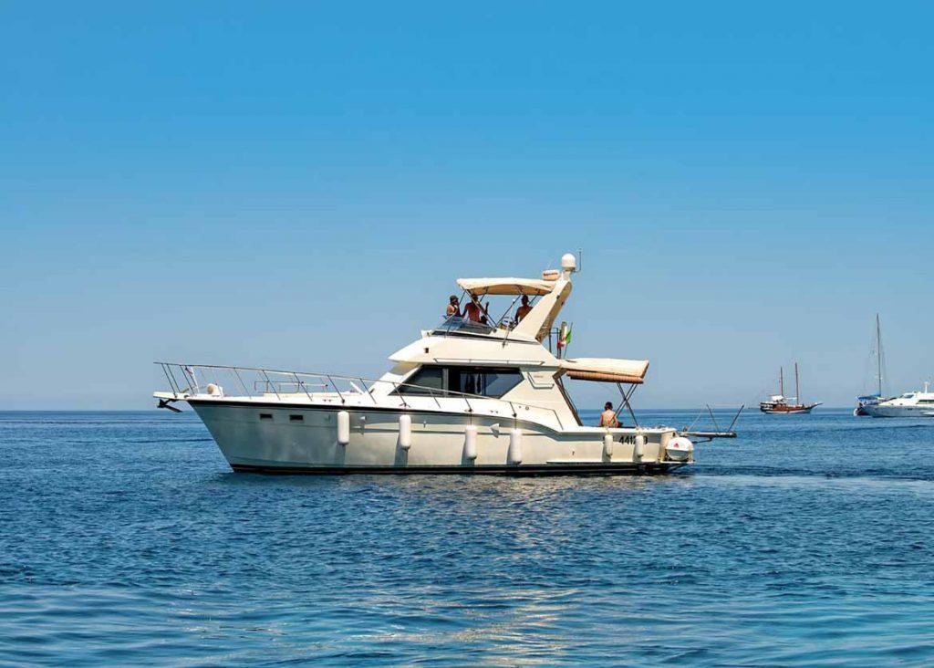 Barca Nessie 2 a Lampedusa