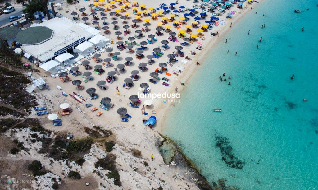 Ristorante Da Tommasino al Guitgia Beach a Lampedusa