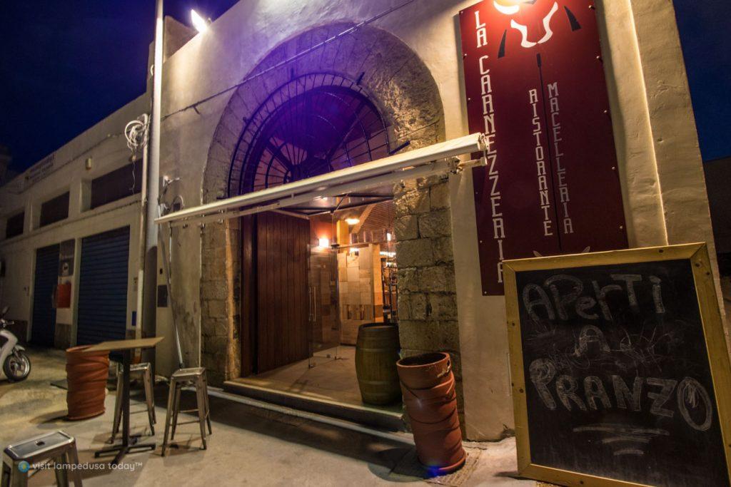 Ristomacelleria La Carnezzeria a Lampedusa