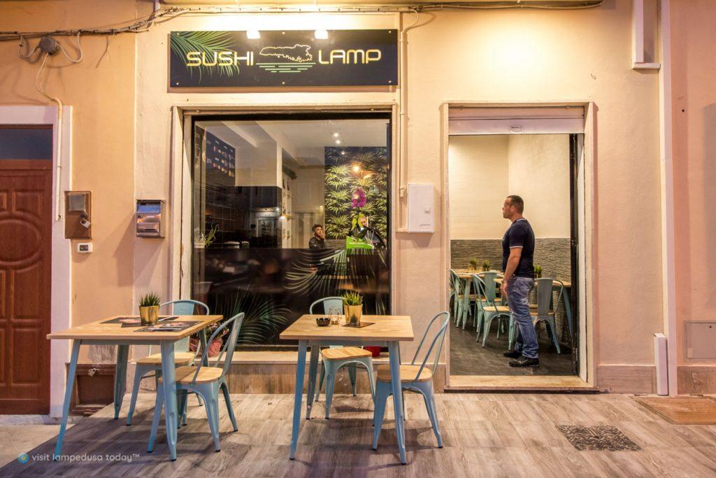 Sushi Lamp a Lampedusa