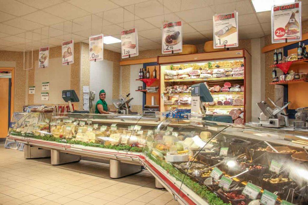 Supermercato CRAI Cala Creta a Lampedusa