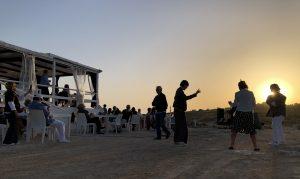 Aperitivo al tramonto a Lampedusa