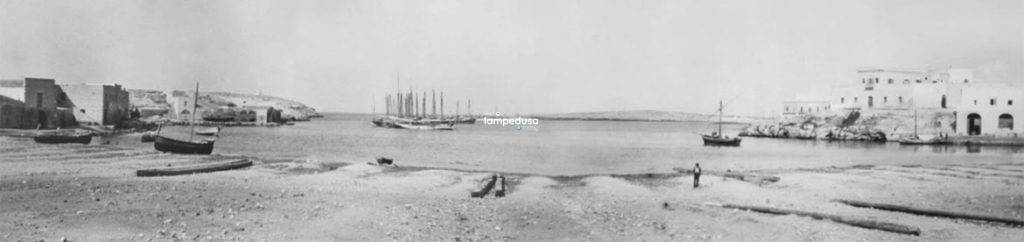 Cala Palme, Lampedusa negli anni '20 - Foto di Thomas Ashby