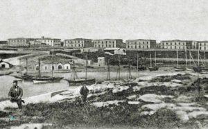 Un stampa storica dei Sette Palazzi