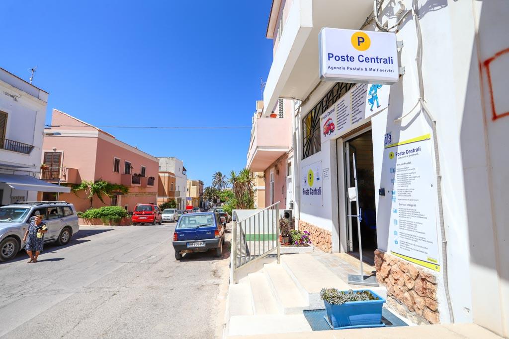 Poste Centrali a Lampedusa